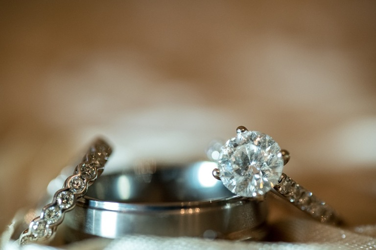 Wedding Rings | Caroline & Evan Photography