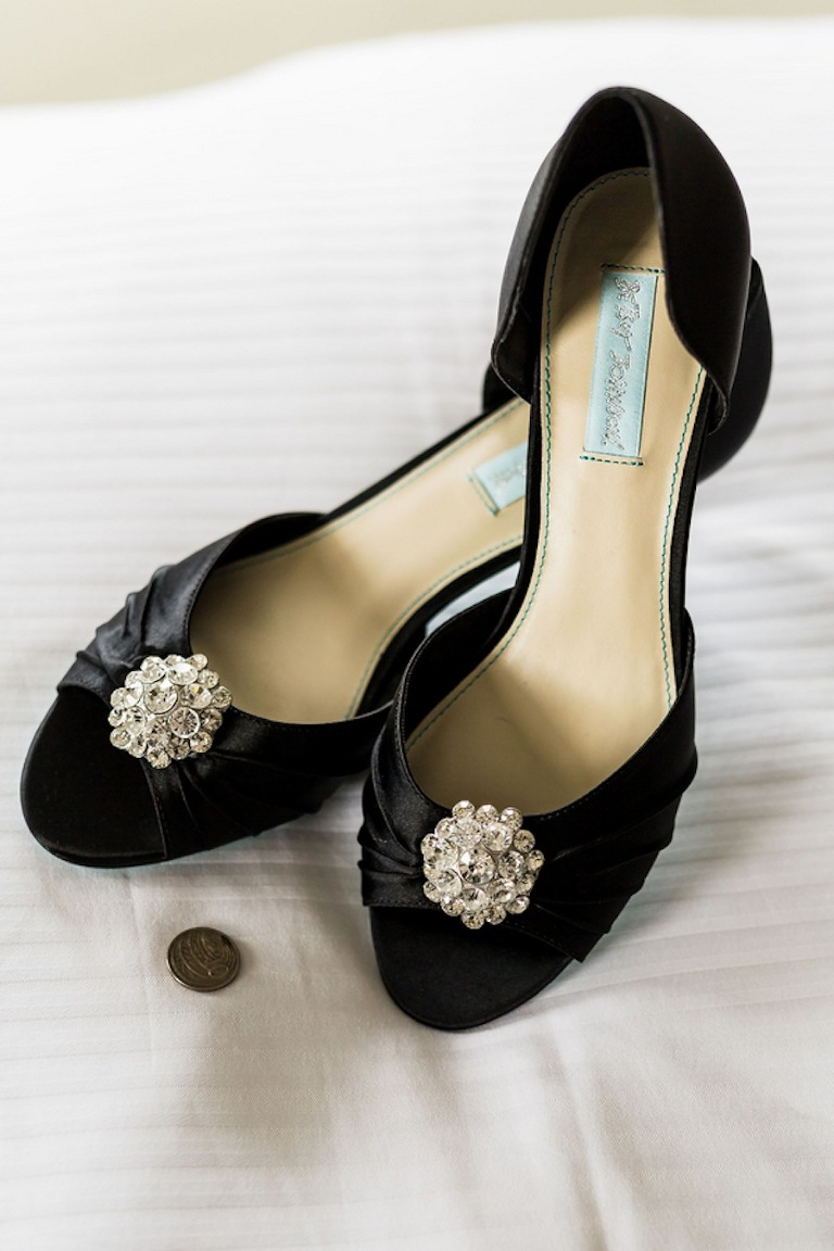 Black Besty Johnson Wedding Shoes