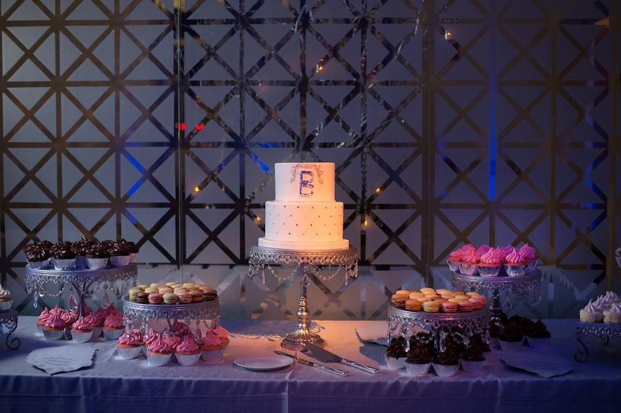Modern Wedding Dessert Table | Tampa Wedding Cake & Bakery
