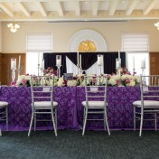 Purple Modern Indian Wedding | Downtown Tampa Wedding Venue Le Meridien