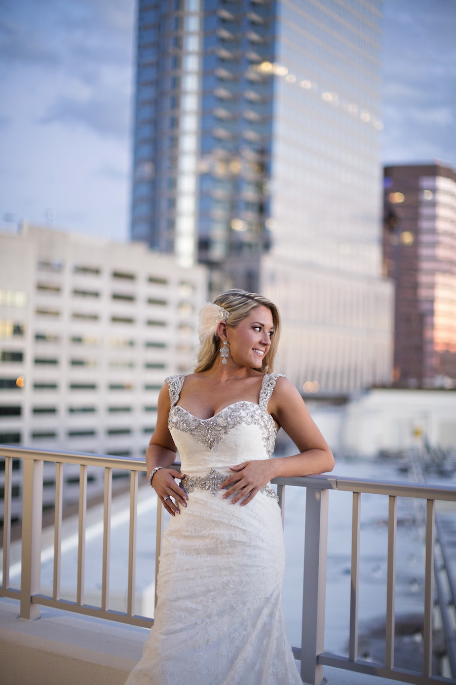 Downtown Tampa Wedding | Bridal Portrait