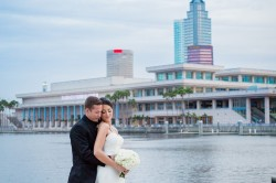 Jen Epstein Wedding Portrait | Downtown Tampa Bride