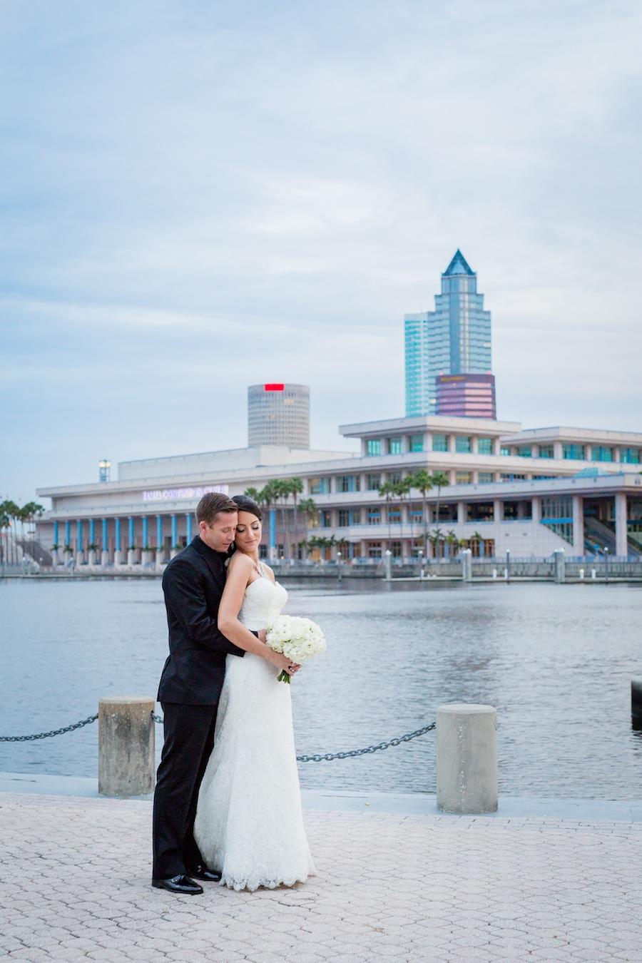 Jen Epstein Wedding Portrait | Downtown Tampa Bride