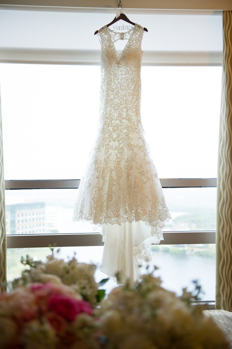 Lace Wedding Dress | Allure Bridal