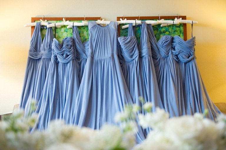 Blue Periwinkle Bridesmaid Dresses | Bella Bridesmaids