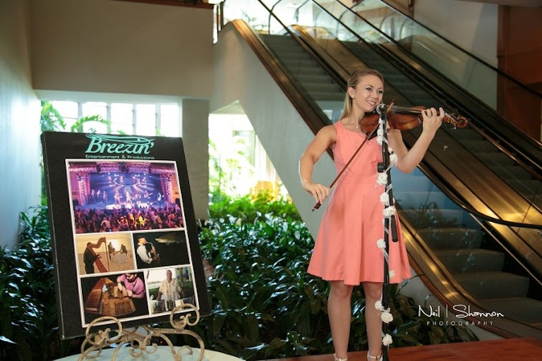 Tampa Wedding Violinist | Breezin' Entertainment