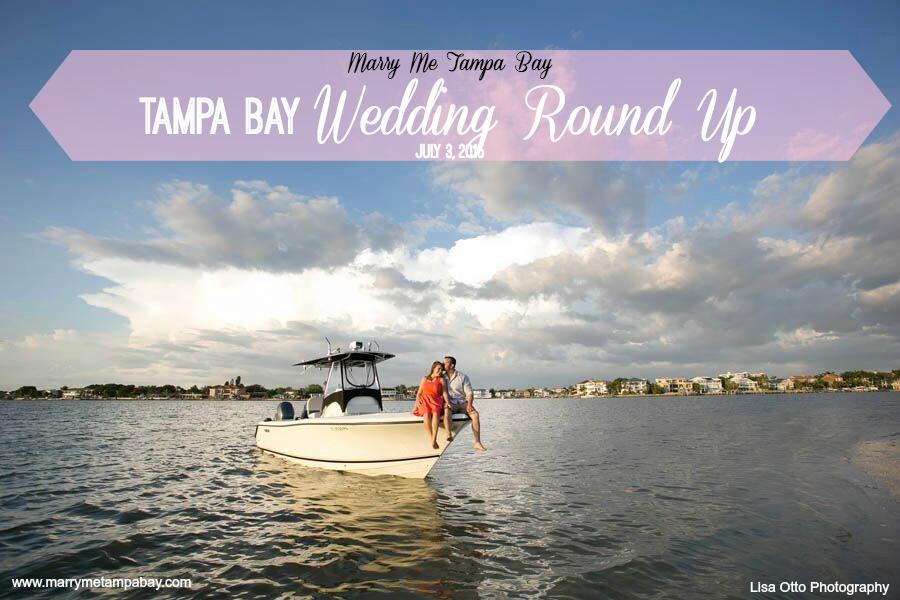 Tampa Bay Wedding Round Up: July 3, 2015 | Photo: Lisa Otto Photography