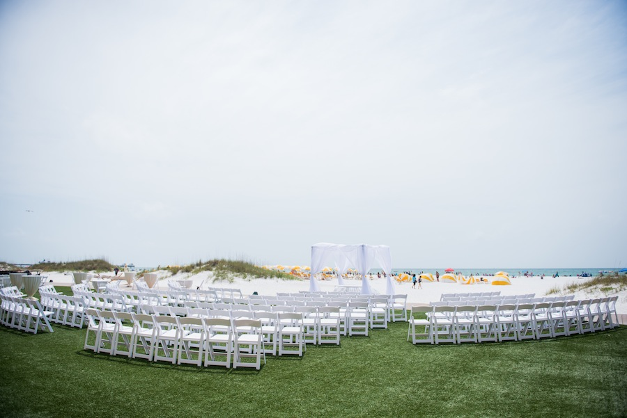 Sandpearl Resort Clearwater Beach Lawn Wedding Ceremony
