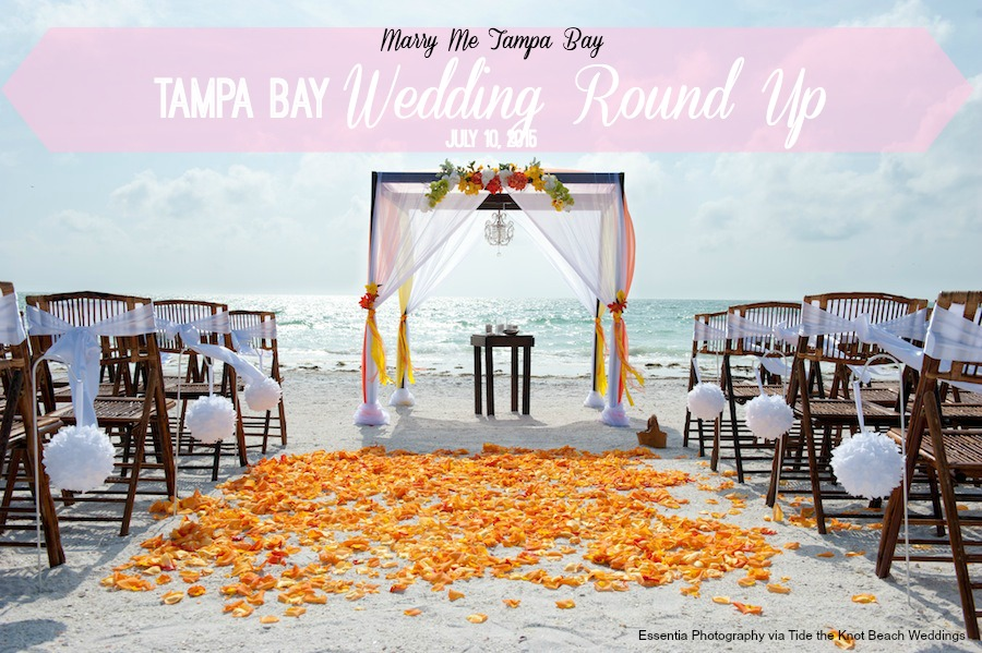 Marry Me Tampa Bay Round Up | Weddings from around Tampa Bay