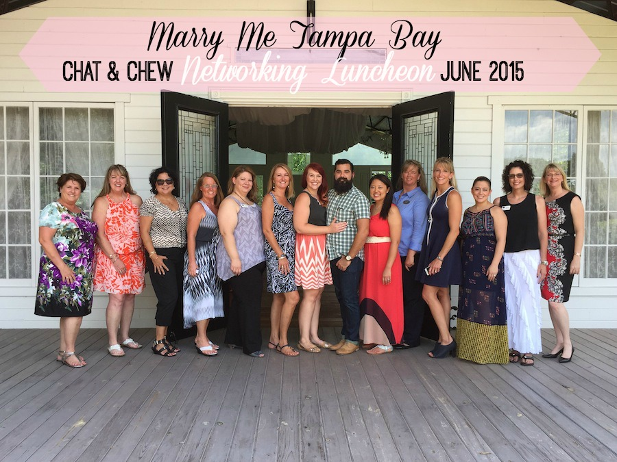 Tampa Bay Wedding Networking   Marry Me Tampa Bay Chat & Chew
