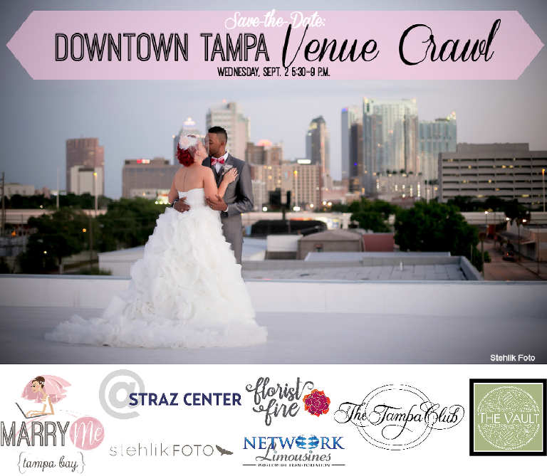 Marry Me Tampa Bay Wedding Networking | Downtown Tampa Venue Crawl