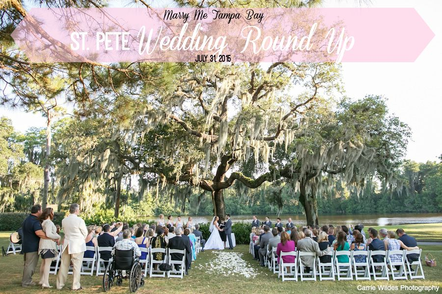 Real St. Pete Weddings and Engagements | Marry Me Tampa Bay Round Up