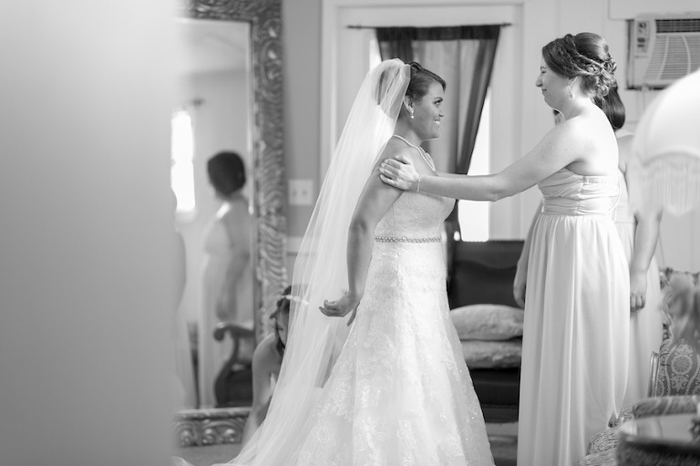 Bride Getting Ready on Wedding Day | Marc Edwards Photographs