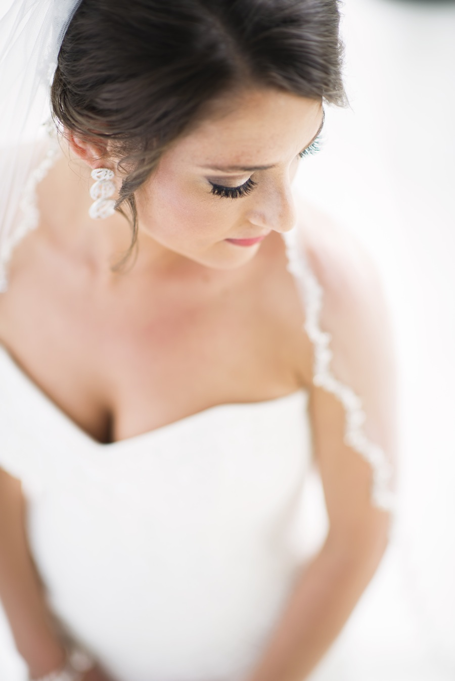 Sandpearl Bride on Wedding Day   Bridal Portrait
