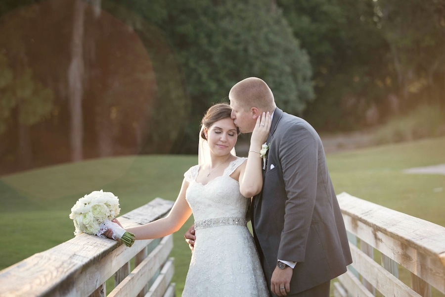Bride and Groom Portrait on Wedding Day | Innisbrook Palm Harbor Wedding Photographer LIsa Otto Photography