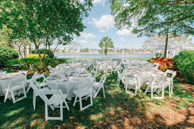 Davis Islands Garden Club Vintage Wedding Blush Gold