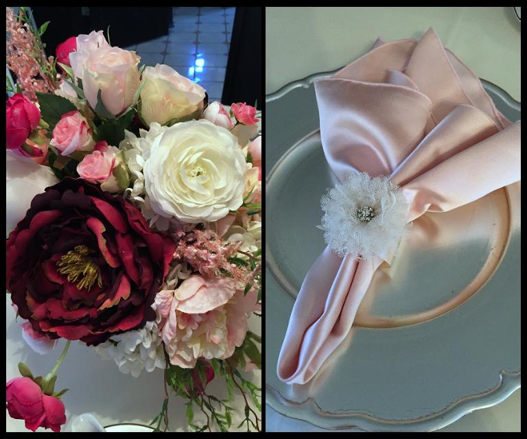 Silk Flowers Wedding Centerpieces | Cross Creek Ranch