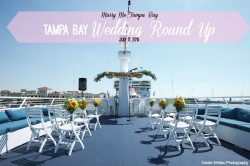 Tampa Bay Wedding Round Up: July 17, 2015 | Yacht StarShip Wedding | Carrie Wildes Photography