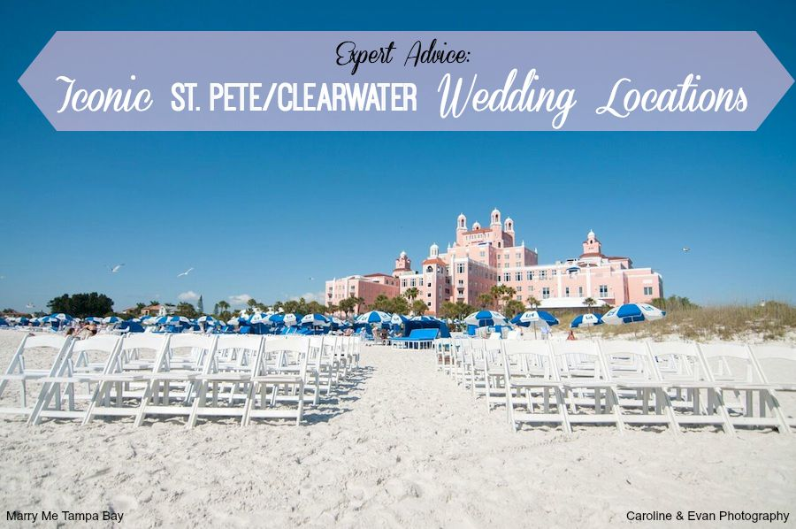 Iconic St. Pete Clearwater Wedding Locations | Wedding Planning Advice by Marry Me Tampa Bay