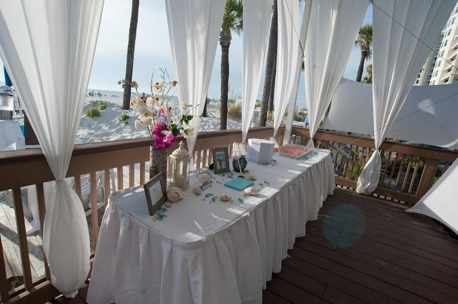 Tented Clearwater Beach Wedding Venue | Hilton Clearwater Beach