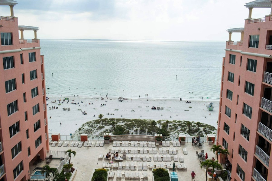 Hyatt Clearwater Beach Wedding Venue
