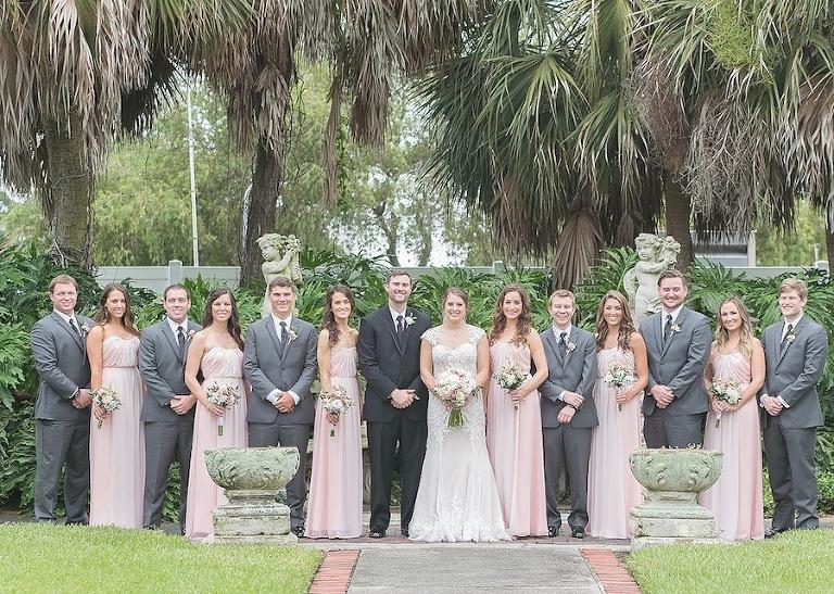 Vintage Wedding Dresses Tampa: Vintage Blush And St. Pete Wedding