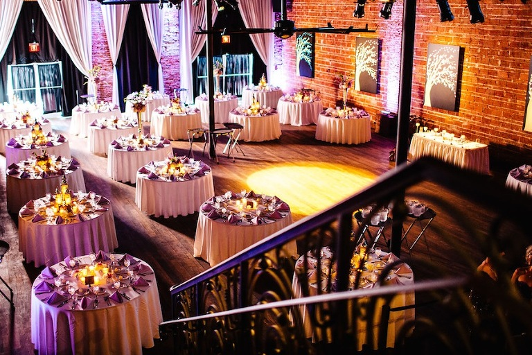 Modern Downtown St. Pete Wedding Reception Venue | NOVA 535