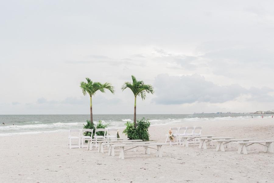 Treasure Island Florida Beach Wedding | Sunset Beach House