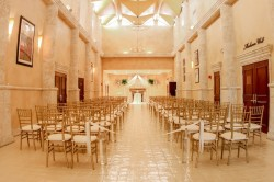 Elegant Indoor Tampa Wedding Ceremony Venue | A La Carte Pavilion