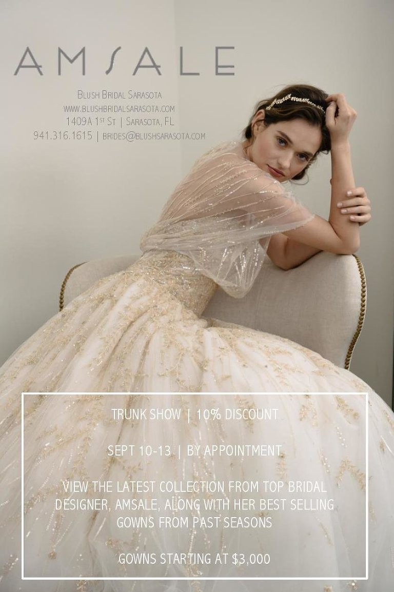 Am Wedding Dress Trunk Show Blush Bridal Sarasota
