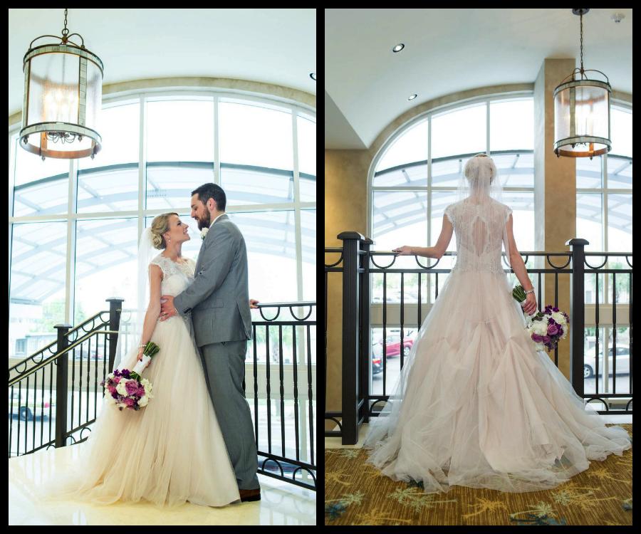 Blush Lace Wedding Dress | Jeff Mason Photography