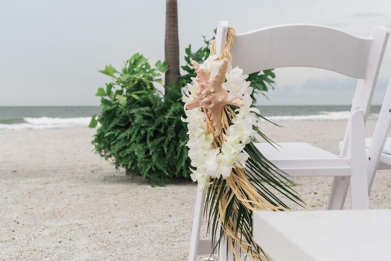 Starfish Beach Wedding Ceremony Decor