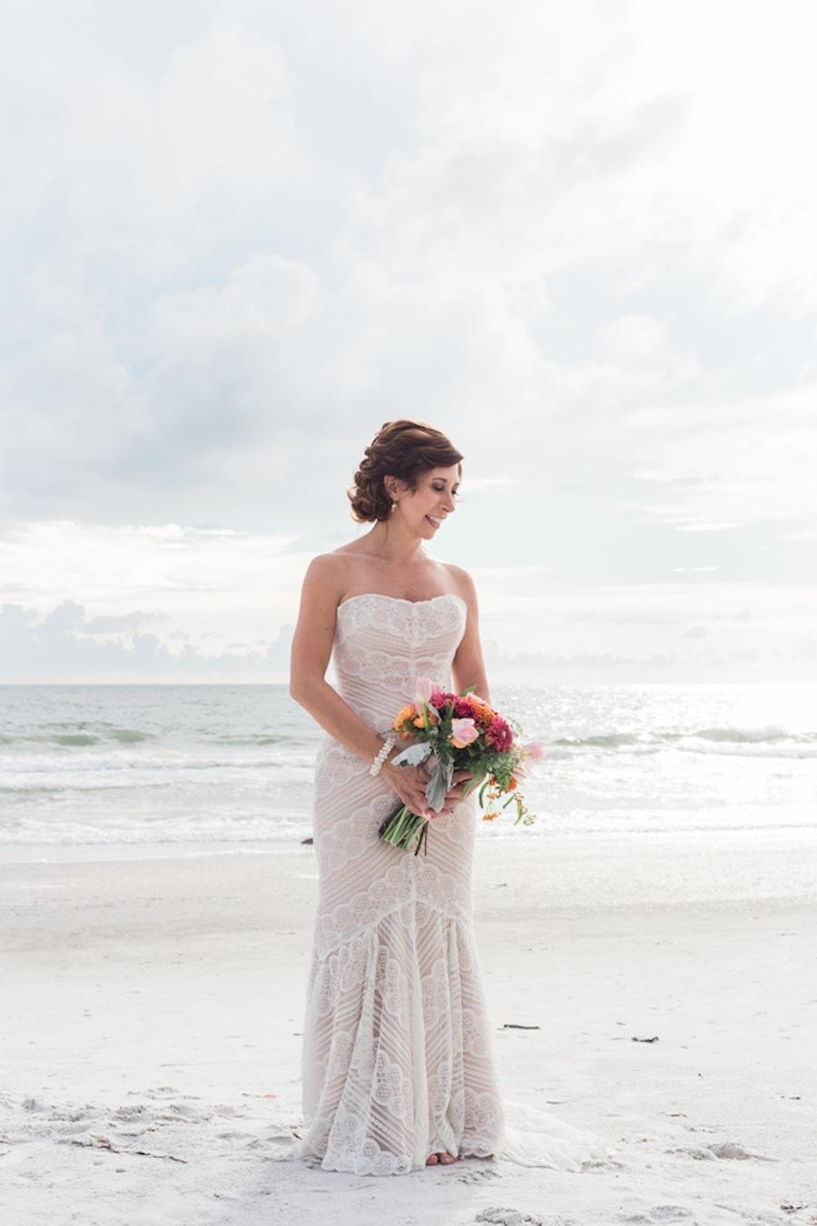 Treasure Island/Clearwater Beach Bride on Wedding Day | Jillian Joseph Photography