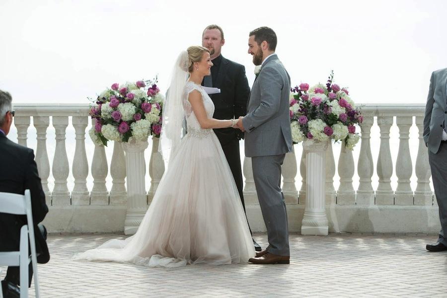 Hyatt Clearwater Beach Rooftop Wedding Ceremony | Jeff Mason Photography