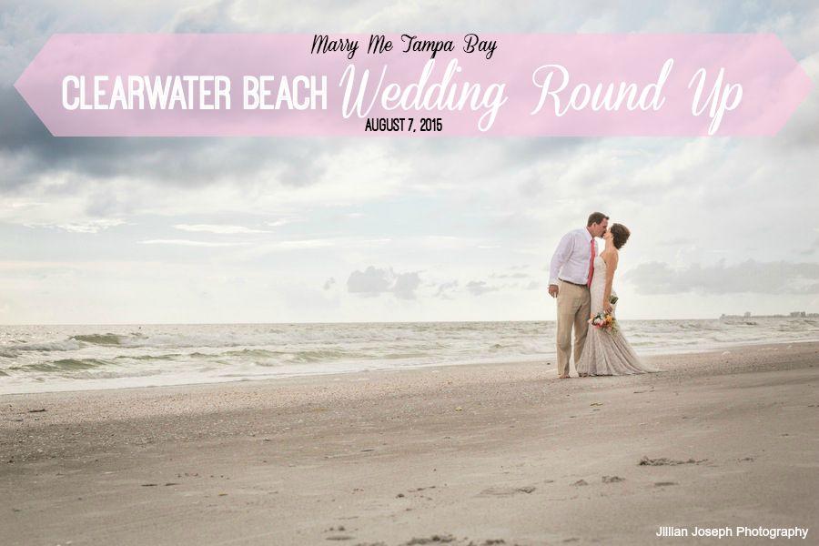 Clearwater Beach Wedding Venues and Real Weddings | Jillian Joseph Photography