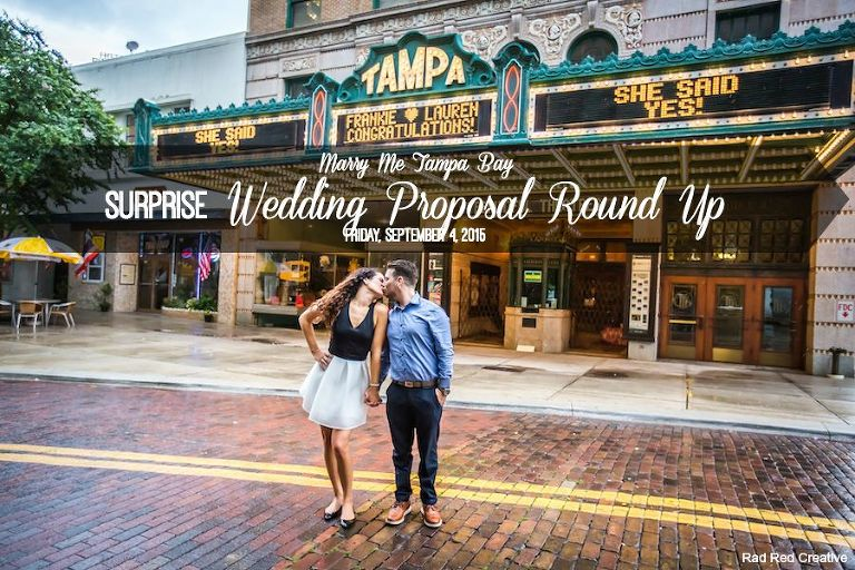 Surprise Wedding Engagement Proposal in Tampa Bay