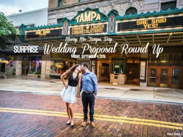 Surprise Wedding Engagement Proposal in Tampa Bay