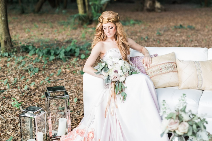 Woodsy, Forest, Nature Styled Wedding Shoot | Tampa Wedding Planner Pea to Tree Events