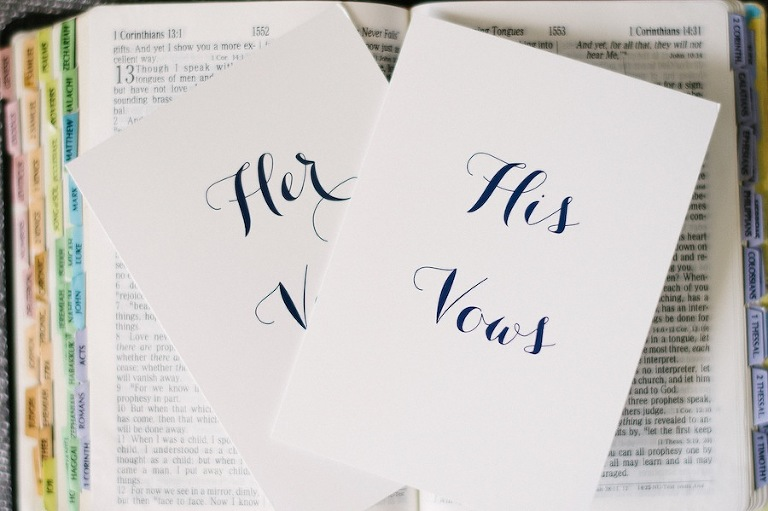 His and Her Vows | Bride and Groom Wedding Vows