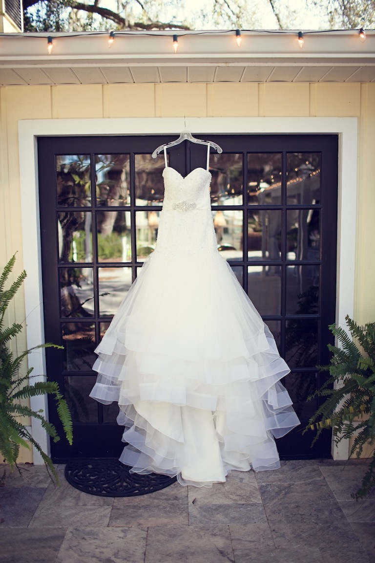 Alfred Angelo Strapless Wedding Dress