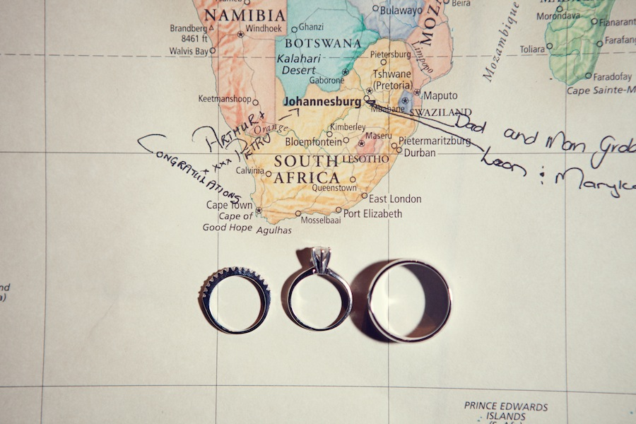 World Map Wedding Guestbook Wedding Rings Marry Me Tampa Bay