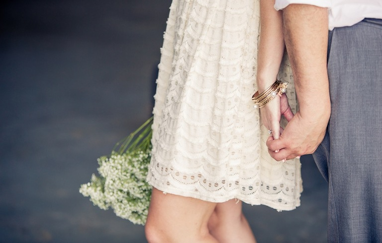 Plant City Vintage Airport Engagement Shoot with Lace Dress