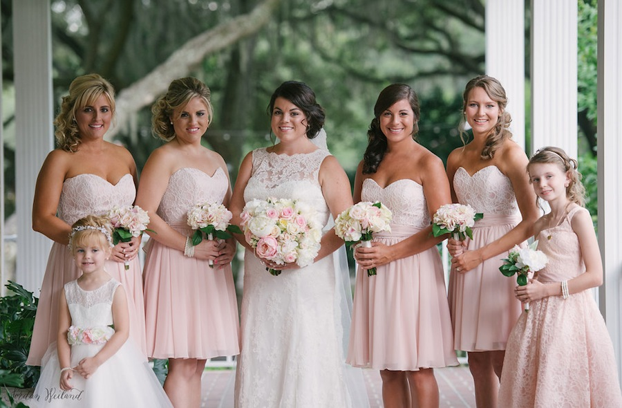 high fashion closer at free delivery Rustic, Lace Mary's Bridal Wedding Dress | Blush Pink, Lace ...