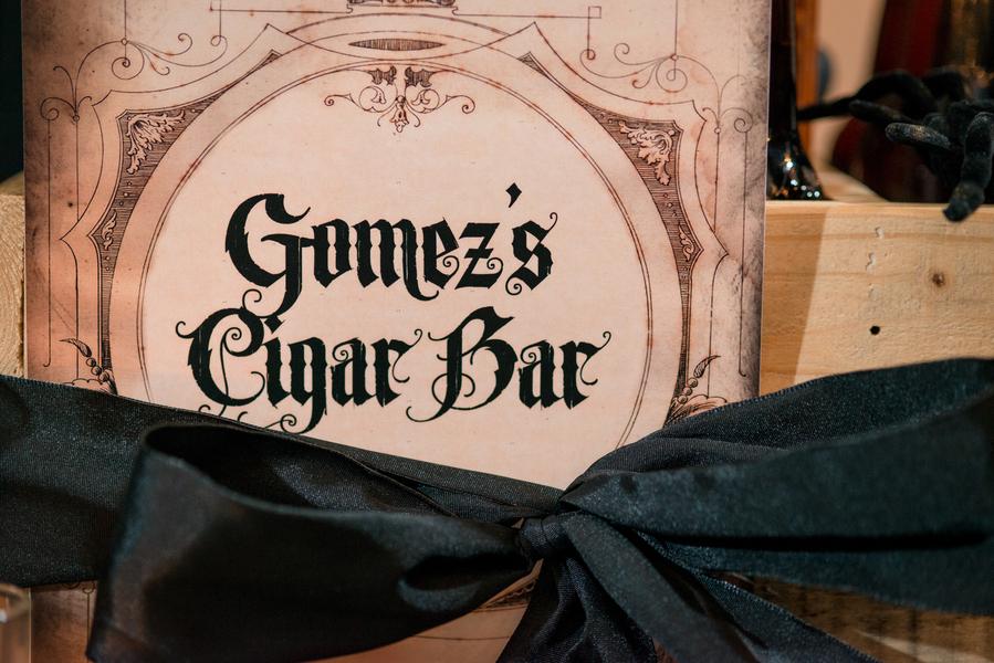 Halloween Inspired Cigar Bar   Tampa Wedding Photographer Marc Edwards Photographs