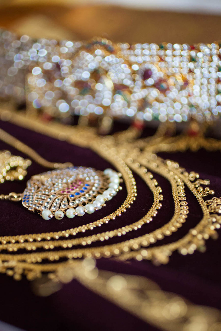 Gold Jewelry for Indian Wedding
