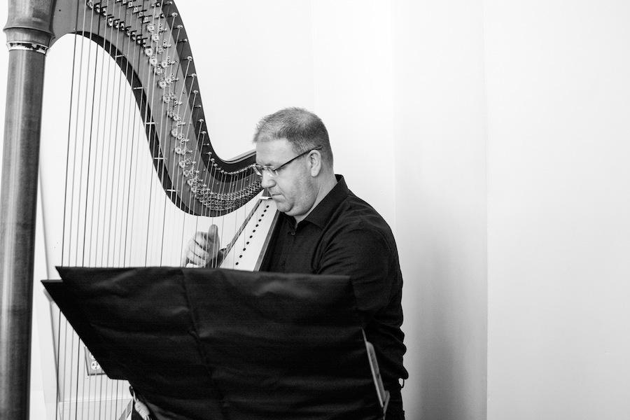Wedding Harpist | Tampa Wedding Live Music Breezin' Entertainment