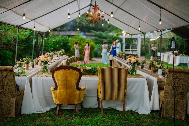 Diy Same Sex Tampa Wedding Usf Botanical Gardens