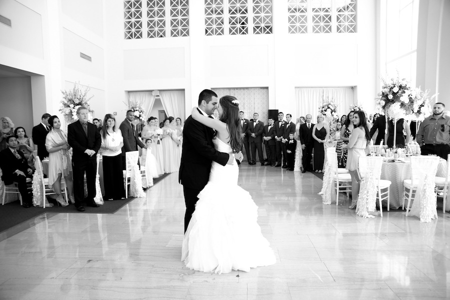 Bride and Groom First Dance | Downtown Tampa Vault Wedding