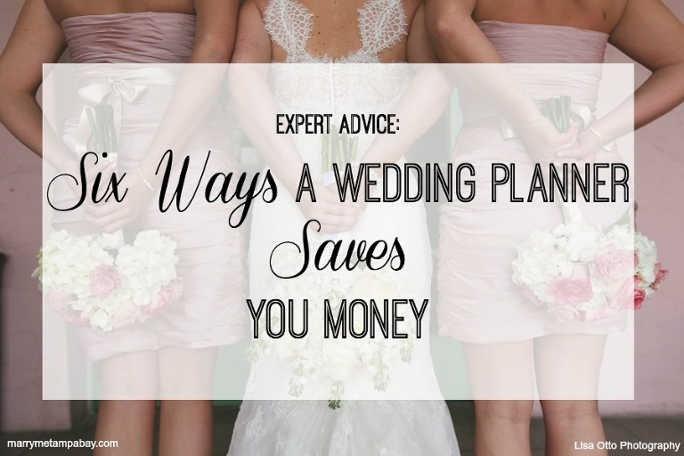 Expert Advice: Six Ways a Tampa Bay Wedding Planner Saves Money | Photo: Lisa Otto Photography