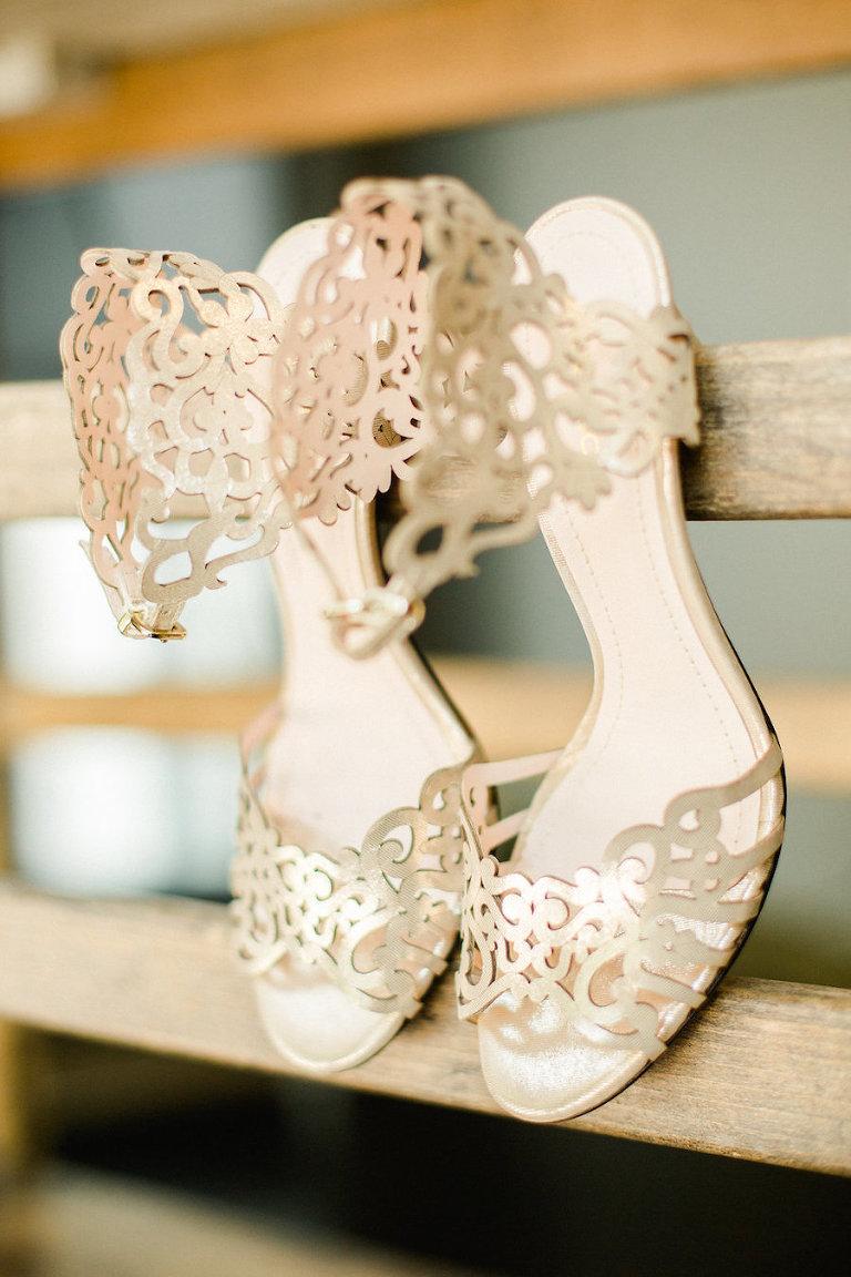 White, Bridal Wedding Heels